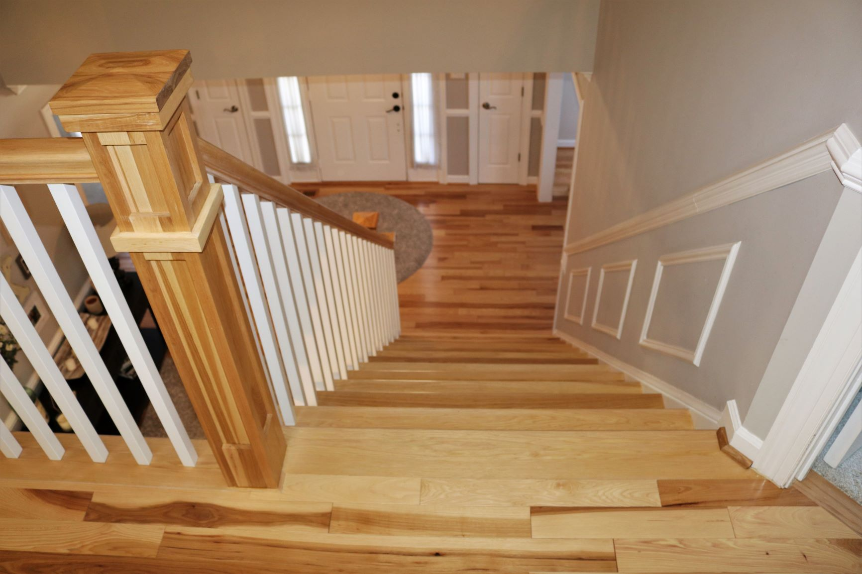 HickoryStairs-Full Remodel-ArlingtonVA-2